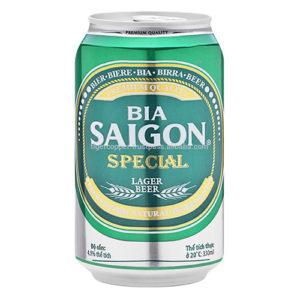 Bia Sài Gòn Special lon 330ml